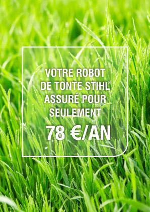 assurez, robot de tonte, matériel, pelouse, stihl, imov, assureur, calvados